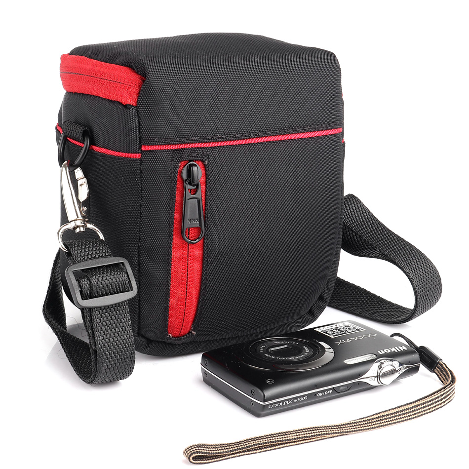 HUWANG Camera Bag Case For Panasonic LX10 LX100 GF9 GF8 GF7 GF6 GF5 LX7 LX5 LX4 GF8 GF7 GF6 GF5 TZ100 TZ90 TZ85 TZ80 TZ70 TZ60