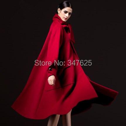 women s winter woollen coat wool x long women a line coats jackets new 2014 female