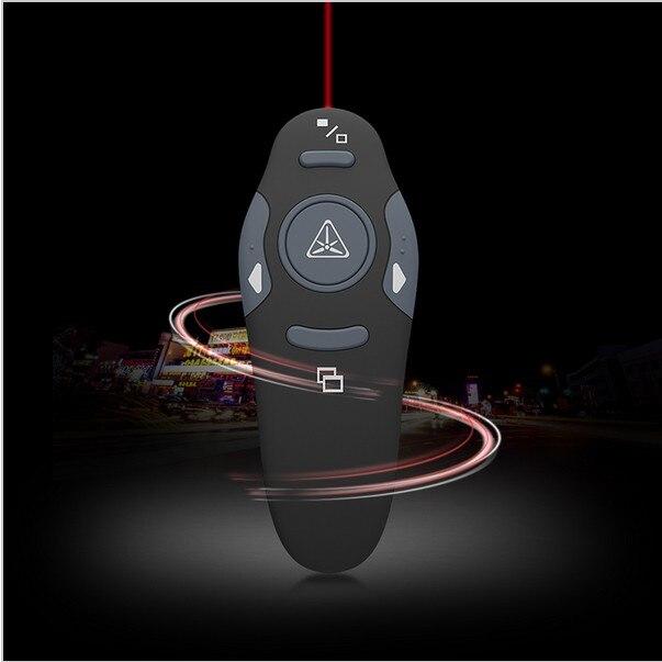 Wireless RF USB Power Point Presenter Remote Control Laser Pointer Pen lazer