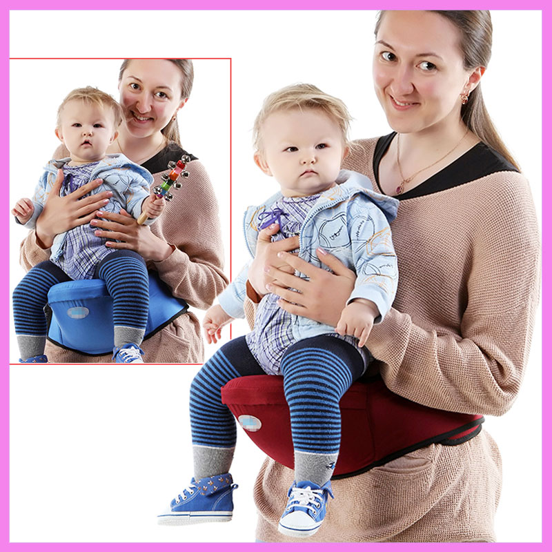Multi-function Baby Hipseat Ergonomic Baby Carrier Single Waist Stool Infant Front Facing Hip Seat Baby Waist Stool Carrier 0~3Y