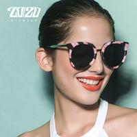 20 20 Vintage Sunglasses Women Brand Designer Retro Round Floral Polarized Sun Glasses Woman Glasses With