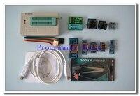 100% original XGECU V9.00 TL866II Plus TL866A nand flash 24 93 25 USB Universal bios AVR programmer+8adapters+V1.8+PL clip