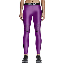 Women Sporting Leggings Skinny Elastic High Waist Fitness Leggins Sexy Silm Pencil Pants Workout Punk Trousers Sportwear