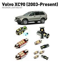 Led interior lights For volvo xc90 2003+ 18pc Led Lights For Cars lighting kit automotive bulbs Canbus цена