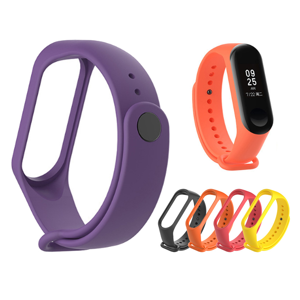 Mrs win Bracelet for Xiaomi Mi Band 3 Sport Strap watch Silicone wrist strap For xiaomi mi band 3 accessories bracelet Miband 3