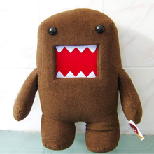 Domo Kun Dolls Plush-Toy Stuffed Creative Gift Funny Soft Kids Brown/pink Kawaii