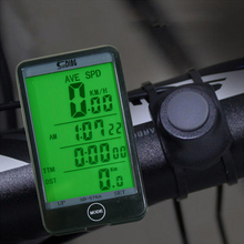 Wired Bike Computer Light Mode Touch Bicycle Computer Cycling Speedometer Odometer Stopwatch (English Version) SD576A basic computer skills made simple xp version