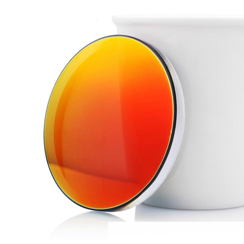 Vazrobe Customized Cool Coating 1.67 Glasses Lenses Resin Polarized Lens Mirrored Sunglasses Anti Polar UV400 Driving Fishing reedoon 6488 men s fashionable resin lens uv400 protection polarized sunglasses silver grey