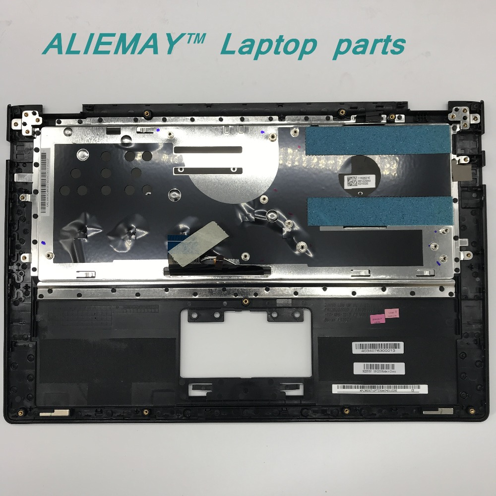 Купить с кэшбэком Laptop parts for LENOVO YOGA 2 13 Yoga2-13  SILVER/BLACK Palmrest  with Backlit CZECH  CZ-SK Keyboard 90205160 60205191