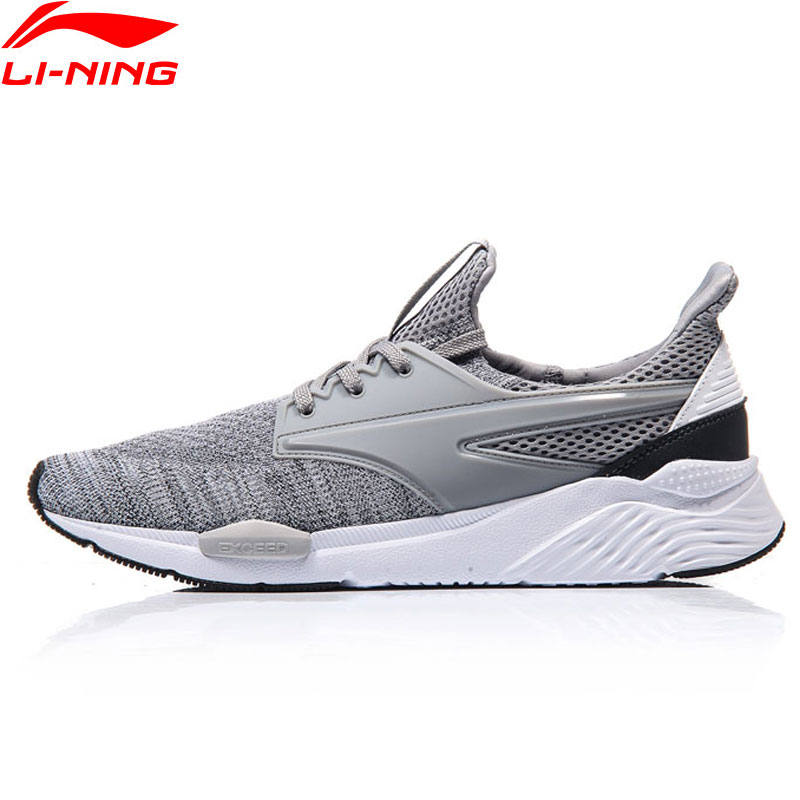 Li-Ning Walking Shoes Men Exceed Heritage Breathable LiNing Sports Shoes Cushion Sneakers AGCM033 YXB051 original li ning men professional basketball shoes