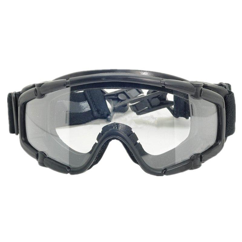 Тактический катание на лыжах защитные очки si-прочная, для шлем черный de розовый 423 424