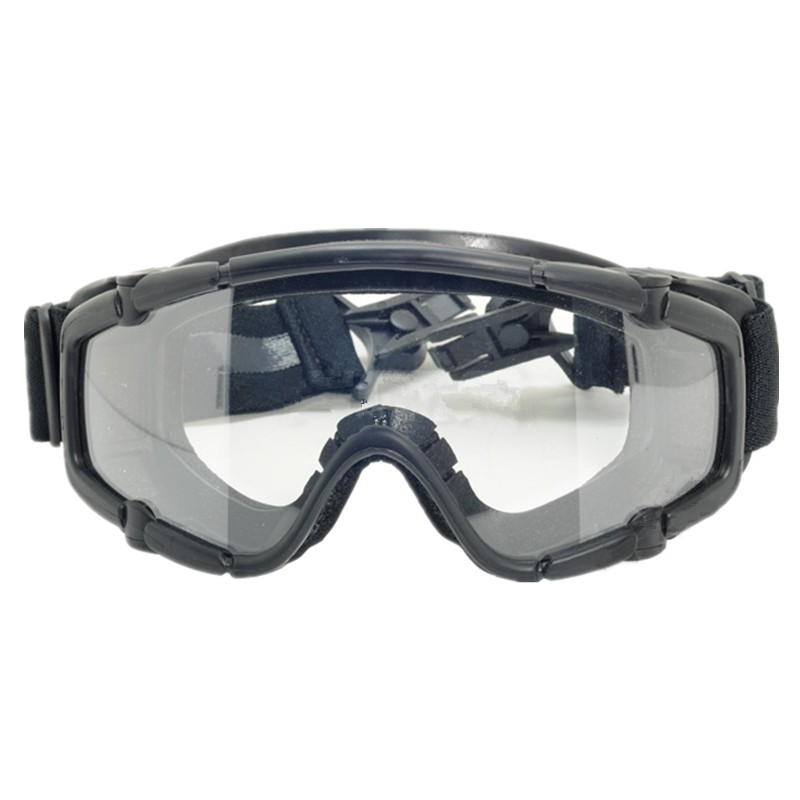 Tactical skiing safety goggle SI-Ballistic Goggle FOR Helmet black DE pink 423 424