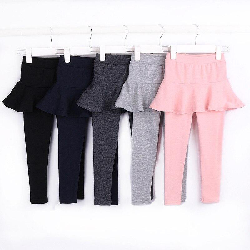 34b4c87a4 Leggings para niñas falda pantalones primavera otoño Leggins pastel Falda  pantalón niños ropa bebé niñas pantalones Getry Leginsy 3 11 años en Pantalones  de ...