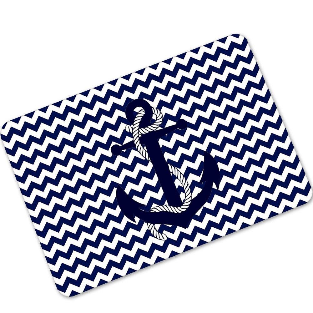 Sea Anchor Rubber Non Slip Floor Mats Doormat For Entrance Welcome ...