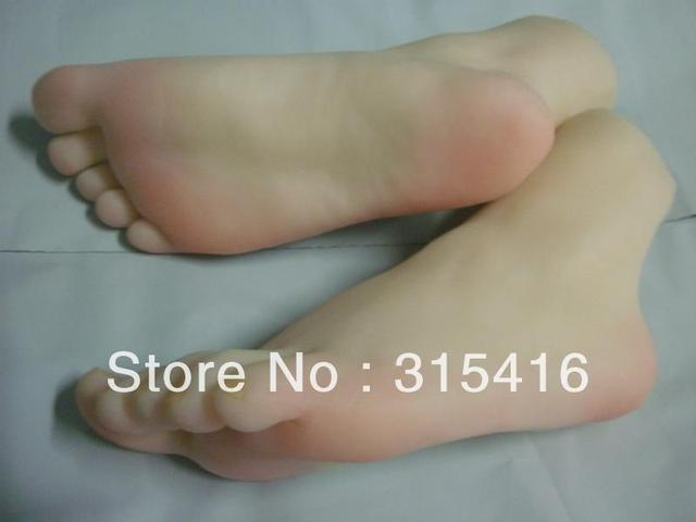 Life Size Womans Foot Feet Model Bj60A-In Sex Dolls From Beauty  Health On -6308