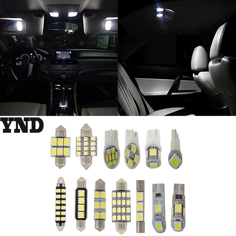 9pcs Light SMD Full LED Interior Lights Package Deal For 2008-13 Toyota Highlander