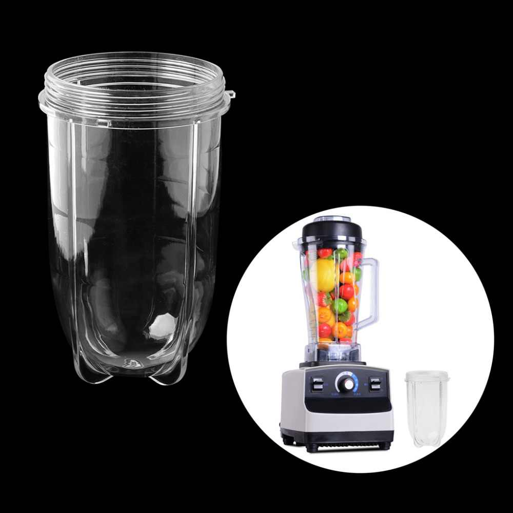 1PC 8*15CM Juicer Blenders Cup Mug Clear Replacement Parts With Ear For 250W Magic Bullet