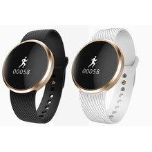 บลูทูธl58 smart watchแฟชั่นการตรวจสอบอัตราการเต้นหัวใจนาฬิกาข้อมือนาฬิกาข้อมือsmartwatchสำหรับapple ios a ndroid p hone a1 gv18 dz09