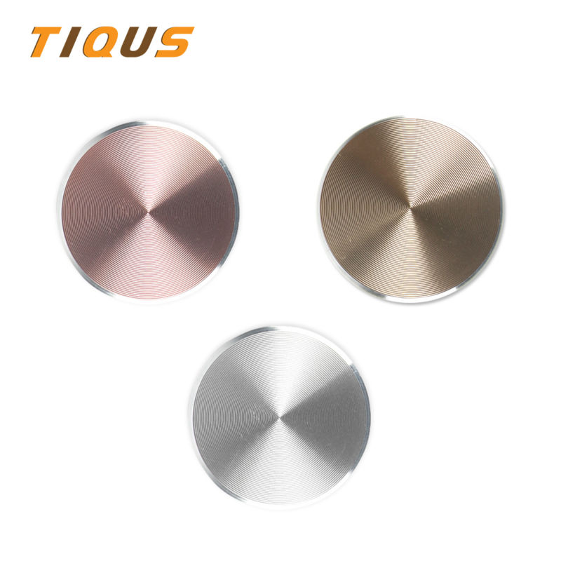 TIQUS Magnetic Car Phone Holder Accessories Metal Plate Phone Stand Universal CD Spin Metal Sheet Plate For Magnet Phone Holder