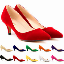 Nouvelles chaussures d'automne à talons hauts de 6cm pour femmes 2021, chaussures de bureau élégantes OL à bout pointu, escarpins à la mode pour femmes