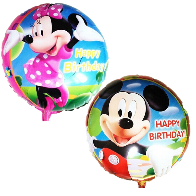 free shipping Hot! Aluminum helium balloons party decoration / cartoon series Mi
