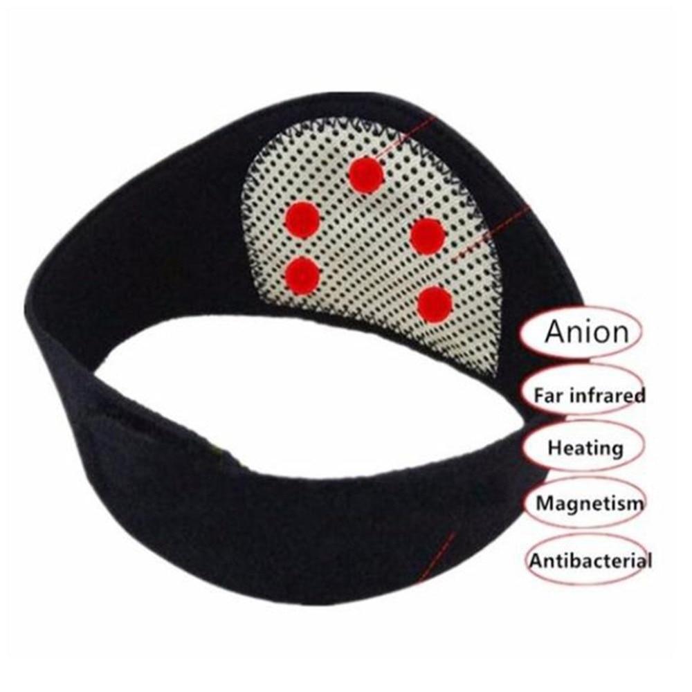 HTB1recpazDuK1Rjy1zjq6zraFXaH - Neck Belt Tourmaline Self Heating Magnetic Therapy Neck Wrap Belt