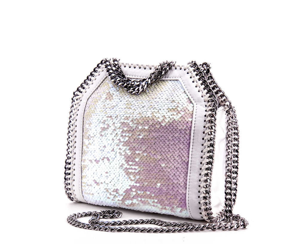 Aliexpress.com   Buy Estelle Wang Casual Tote Beaded Messenger Bags Fashion  Bling Fish Scales Crossbody Bags For Women Chain Handbag Bolsas Feminina  from ... 88667a005069