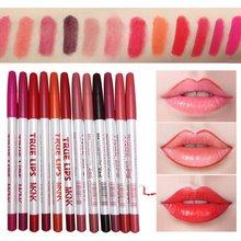 New Women Lips Makeup Lipliner Set Waterproof Lip Liner Pencil Makeup