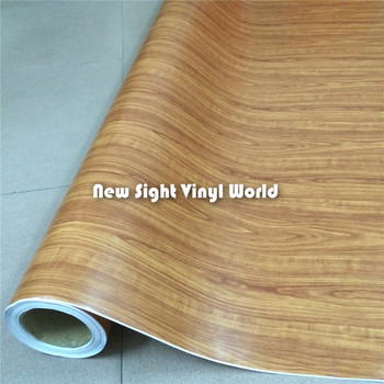 Rosewood Wood Vinyl Film Wood Texture Vinyl Sticker Grain Decal Vinyl Film Interier Decoration Size:1.52X20m/Roll
