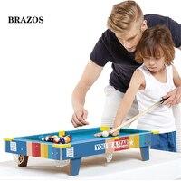 Американская бильярдная настольная игрушка столик для снукера большой бассейн Настольный бассейн бильярдный шар игра дети цветная версия