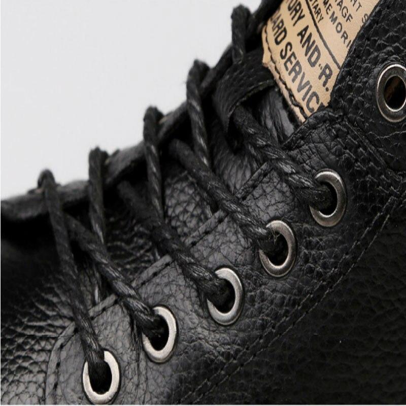Alta Top Sapatos Homens Inverno Single Casuais Algodão Black Botas De Dos Backcamel Couro Outono Calçado Novo 2018 Do 47 38 Tamanho qXZxSz6