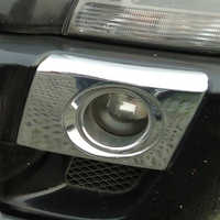Free Shipping High Quality ABS Chrome Front Fog lamps cover Trim Fog lamp shade Trim For Hyundai Tucson
