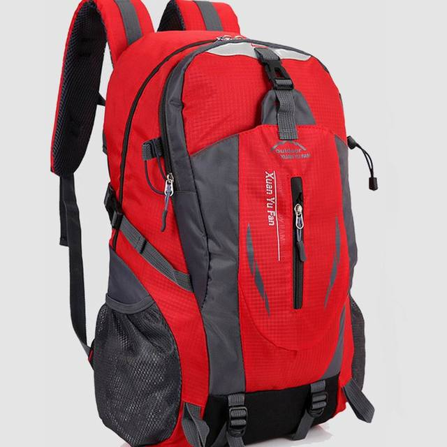 Large Capacity Outdoor Nylon Fabric 55L Soft and Light Multi-function Waterproof Hiking Backpack No. 301
