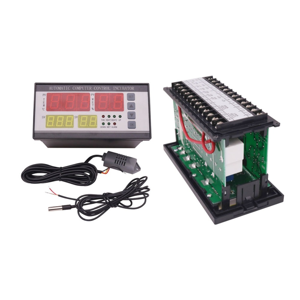 1 SET XM-18 Incubator Hatching Machine Parts Automation Controller Temperature Humidity Sensor STRICTLY CHECK THE TEST