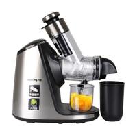 220V JYZ-E19 Household Orange Slow Juicer Fruit Vegetable Low Speed Juicer Electric Stainless Steel Orange Juicer
