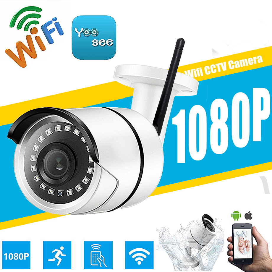 Yoosee IP Camera Wifi ONVIF P2P 1080P 960P 720P 2MP Wireless Wired Nano led Night Vision Outdoor Security SD Card Slot Max 32G цены