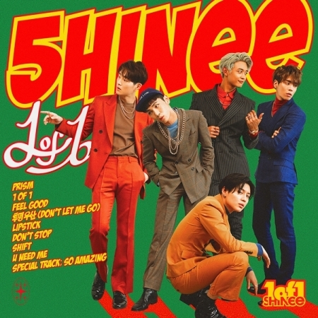 SHINEE 5TH ALBUM VOL 5 - 1OF1  Release Date 2016-10-06 shinee the 2nd concert album shinee world ii in seoul 44p lyric book release date 2014 4 2 kpop