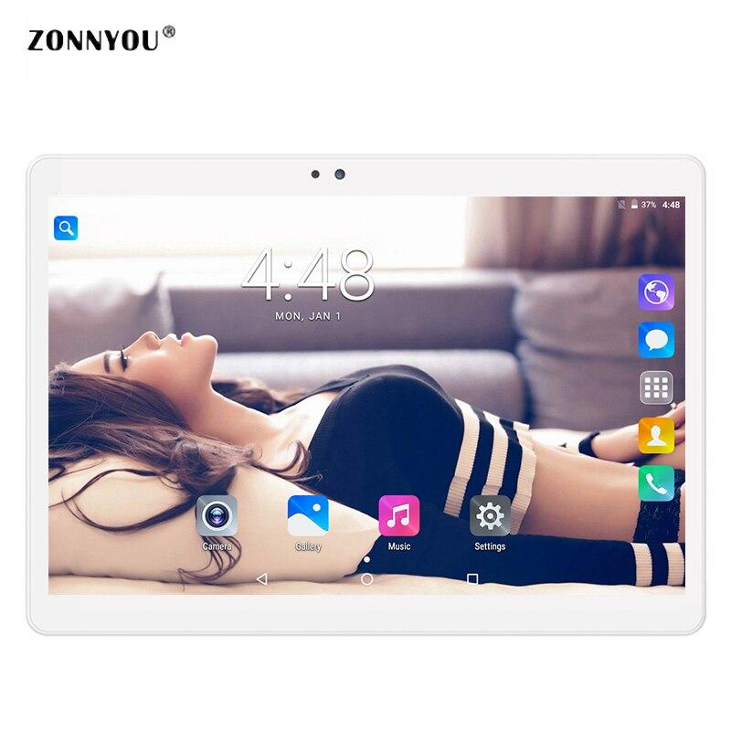 10,1 Tablet PC 3g вызова Android 7,0 Octa Core 4 ГБ Оперативная память 32 ГБ Встроенная память MediaTek встроенный 3g Bluetooth 1,5 ГГц 5000 мАч Tablet PC 5.0MP ...