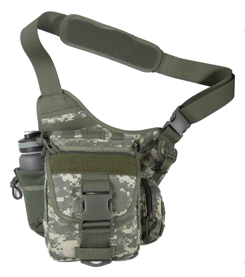 1000D High Quality Nylon Tactical military Molle Sling Single Shoulder Bag Men travel Outdoor Sports Camping