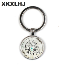 Her soul and elegance in her EYES CHARM inspirational charm keychain, a gift for her, flame the pendant