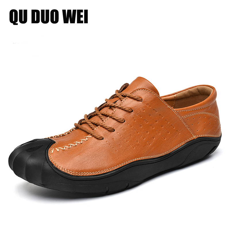 Cuir Sneakers Lacing 2018 Mode De brown Black Printemps Automne Slip Mâle Lacing Conduite Casual On En Hommes Appartements Mocassins Split black brown On Chaussures PXWq4