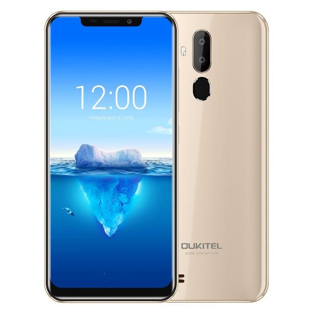 Oukitel C12 Pro 4G 6.18″ 19:9 Android 8.1 Face ID 2GB RAM 16GB ROM 3300mAh Mobile Phone MT6739 Quad Core Fingerprint Smartphone