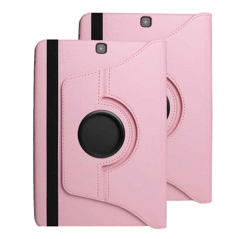 For Tab S3 9.7Case, 360 Rotating Magnetic PU Leather Smart Case Cover for Samsung Galaxy Tab S3 9.7 2017 SM-T820 T825 Funda