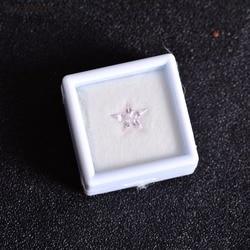 Bir kutu Pembe Safir Kıt üretim Hiçbir yanan taşlar