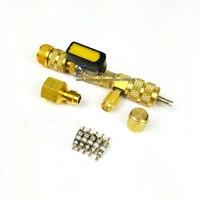 1/'4'' 5/16 ''Ventileinsatz Installer für R22 R410A R404A R407C-in Klimaanlage aus Kraftfahrzeuge und Motorräder bei