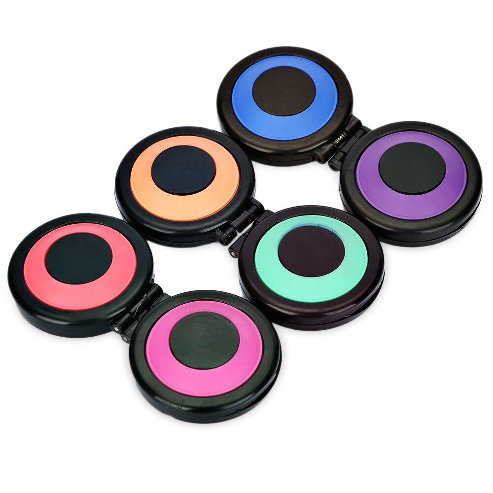 Профессиональный 6 цветов Временная Краска для волос Косметическая пудра торт укладки Мел комплект