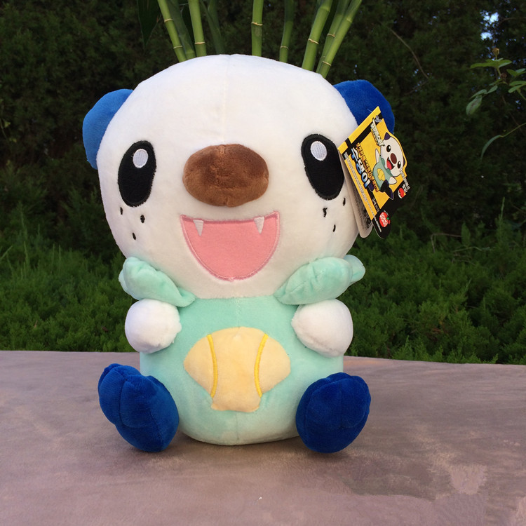 38cm Oshawott Plush Toys High Quality Cute Anime Plush Toys Children's Gift Toy Kids Cartoon Oshawott Plush Doll