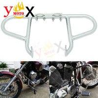 Xv250 proteção de motor para barra de batida  cromada  proteção de motor para yamaha virago 250 xv 250 1998 2007-1999 2000 2001 2002 2003 2004