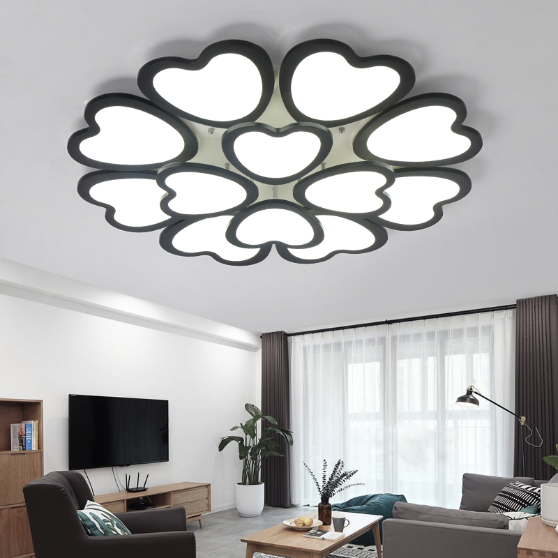 Modern LED Ceiling Lights Kitchen Living Room Bedroom Light Lampen Kristal Moderne Design Fixture Luminaire Lamp In From