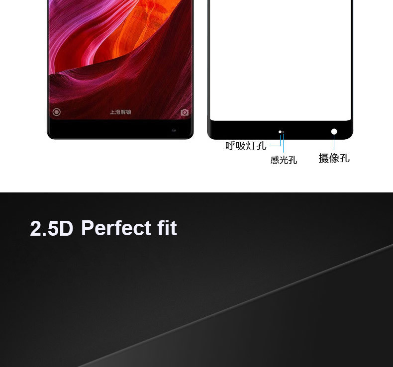 screen protector tempered glass for xiaomi mi mix 2 2s   03
